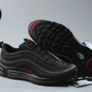 Other - Air Max 97 OG QS Black Red For Sale